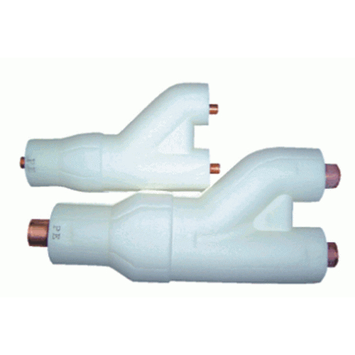 Additional Y-Joint (<22.4kW) Discharge Pipe