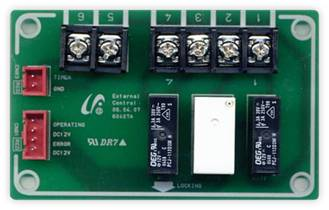 External Contact Interface module (Remote on/off, unit operation/error output)