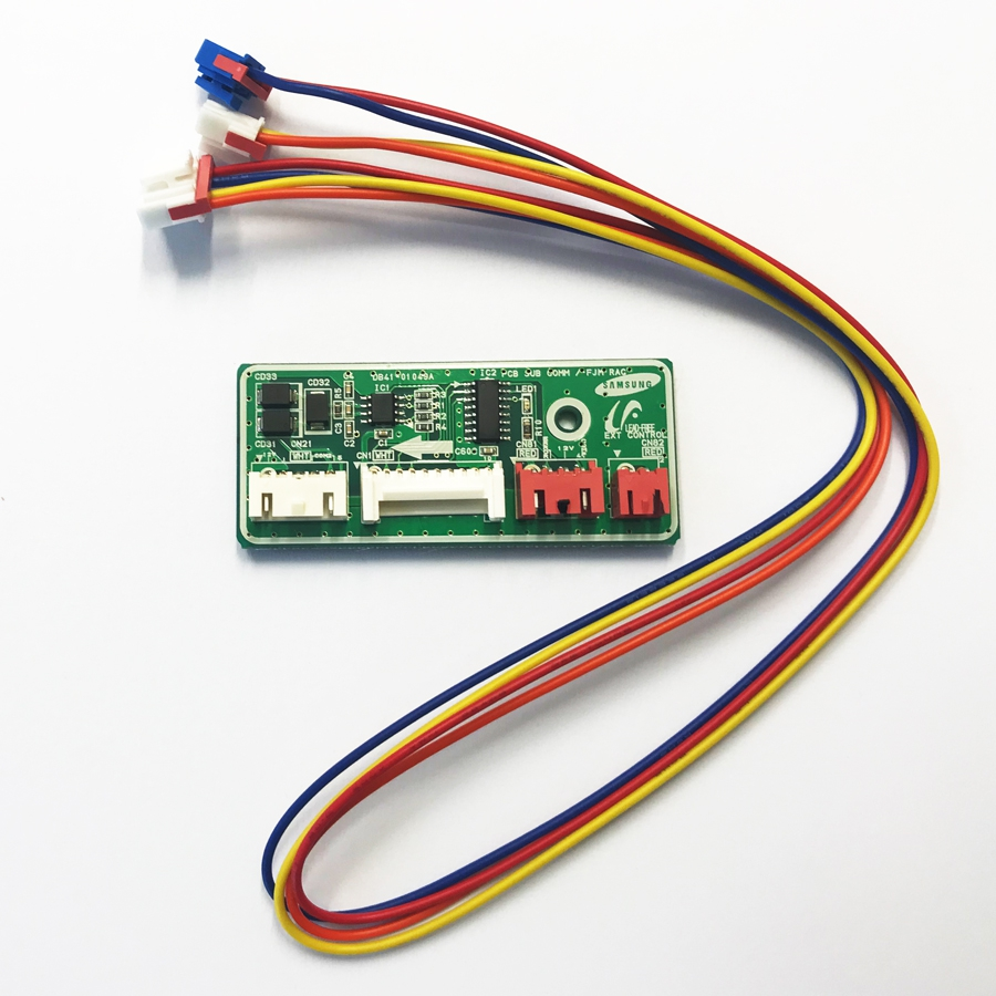 Sub PCB to connect NASA wired remote controller to RAC High Wall (Check suitability)