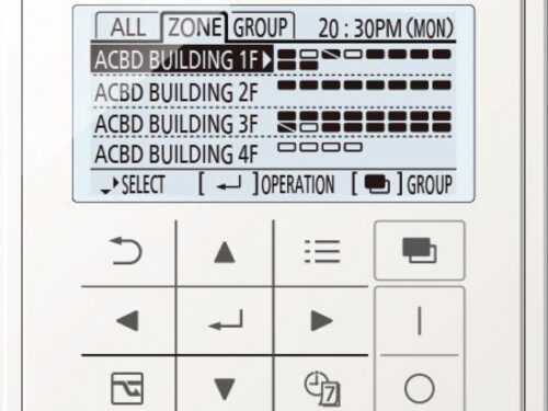 Infrared remote controller for all indoor units