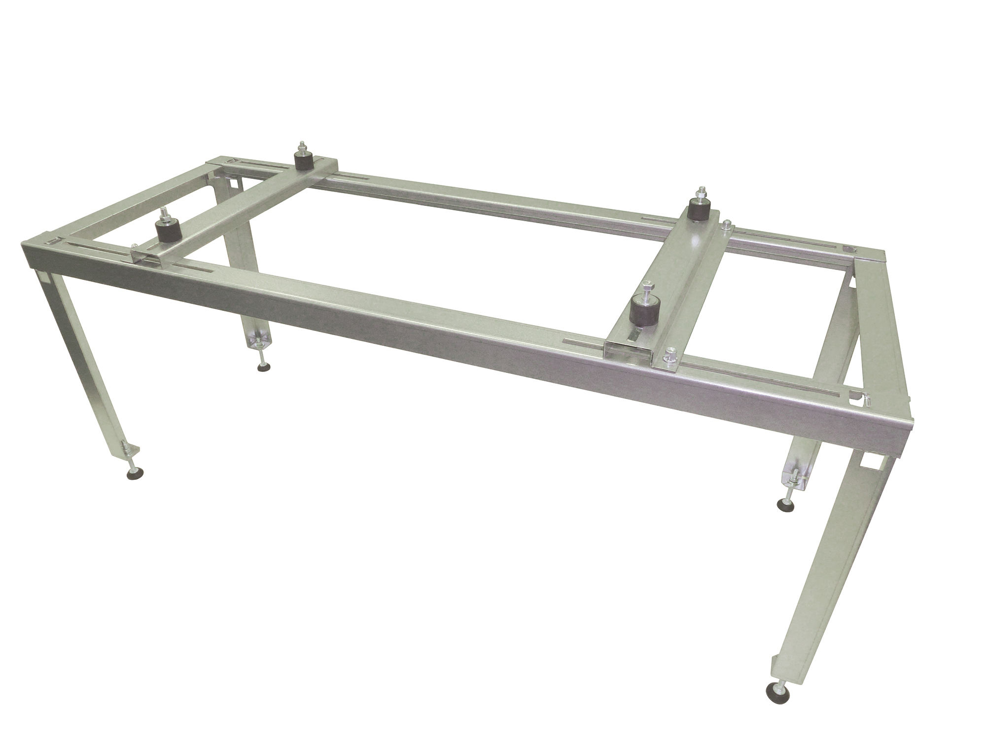 Tray for condenser water compatible with outdoor elevation platform.