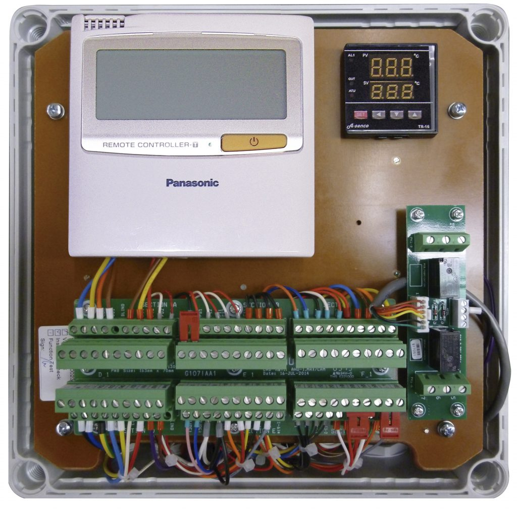 16.0 kW Kit to enable use with 3rd party air handler or chiller (IP65 Chassis and 0-10V demand control)