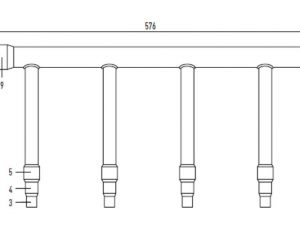 3-Pipe MF3 Header Pipe.