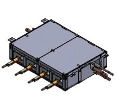 4 ports 3 pipe box (up to 16.0kW per port).