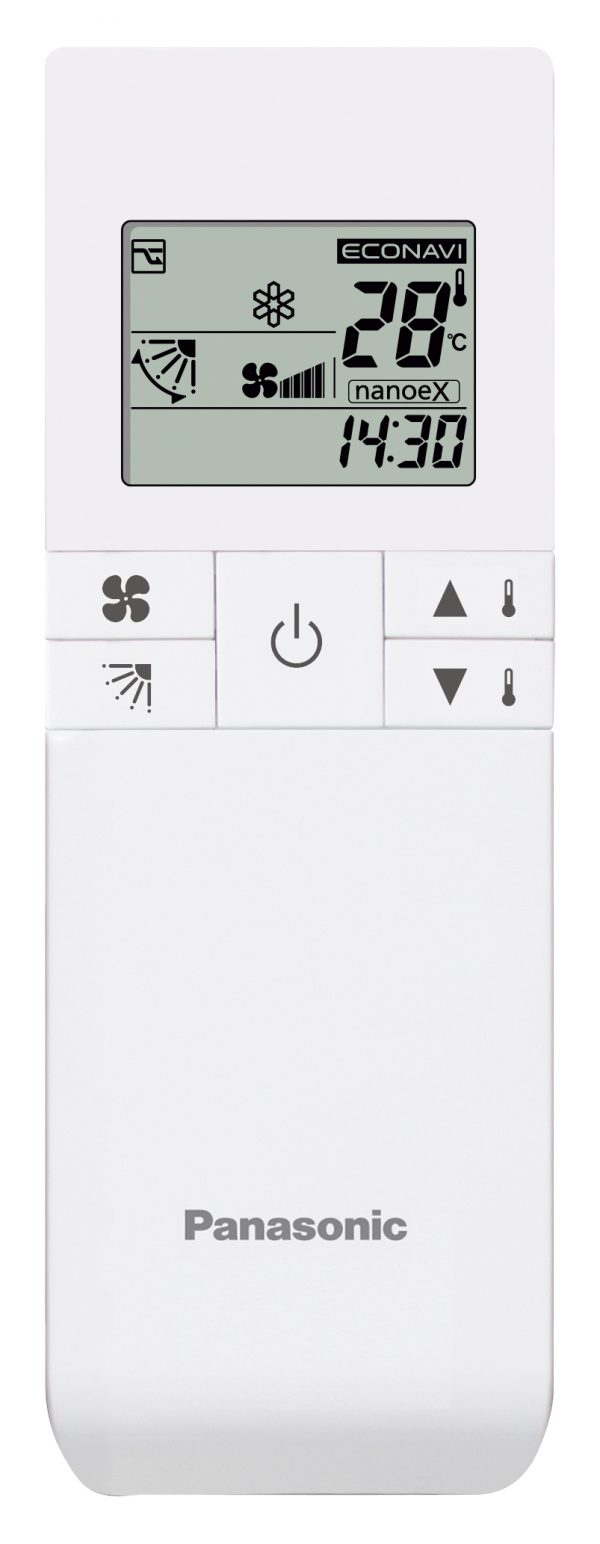 Standard wired remote controller for Floor-standing (P1) indoor units